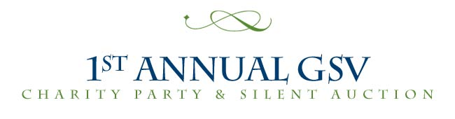 1st Annual GSV Charity Party & Silent Auction